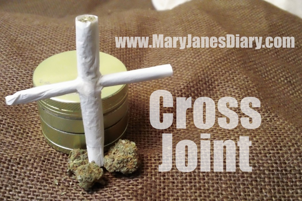 how to roll a cross joint