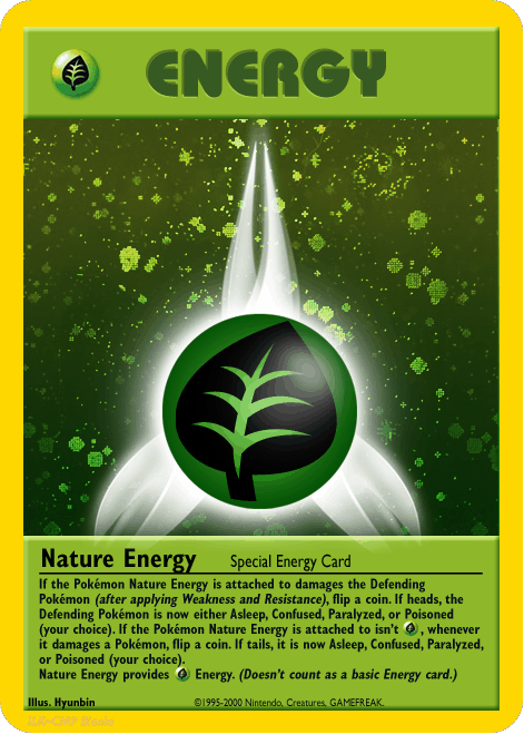 stoner pokemon grass energy