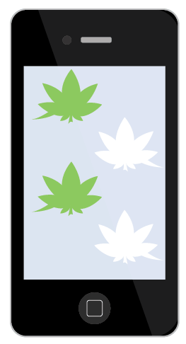 marijuana text emojis iphone