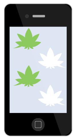 marijuana text emojis iphone