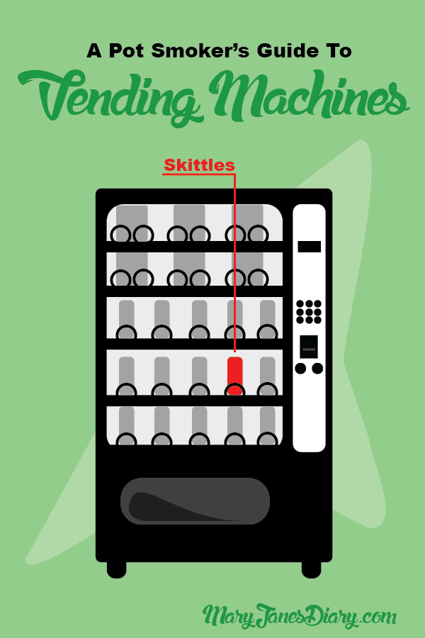 pot smoker's guide vending machines infographic
