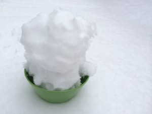 how to make a snow bong part 2