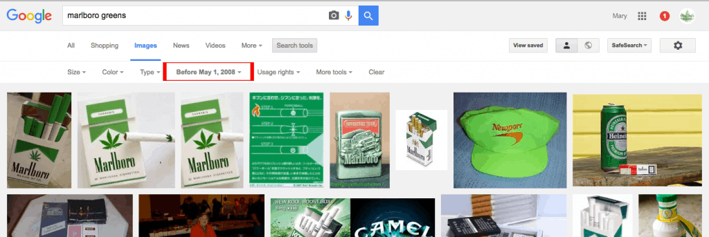 marlboro greens search