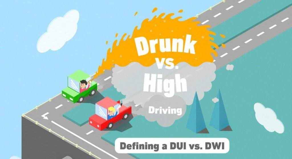 Drunk Driving vs. Driving High in Canada and the USA