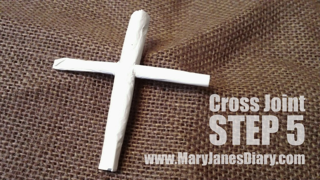 how to roll a cross joint step 5