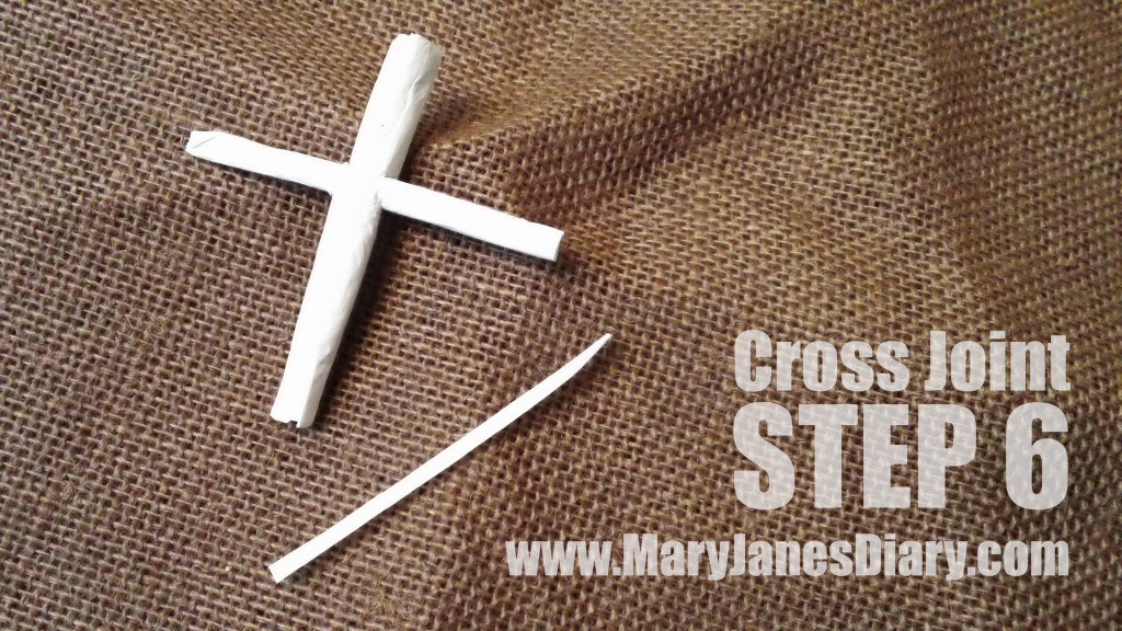 how to roll a cross joint step 6