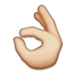 ok hand sign marijuana emoji - mary janes diary