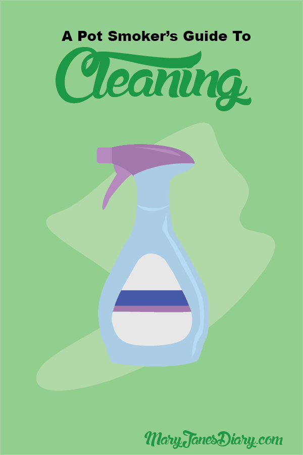 pot smoker's guide cleaning infographic